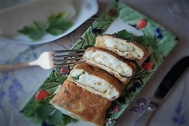 frittata con tuma siciliana