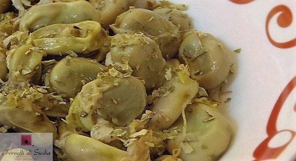 fave a coniglio aglio e cipolla