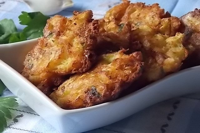 frittelle zucchina bianca