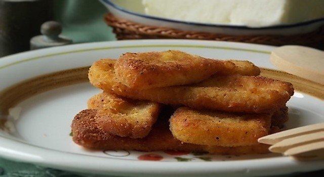 ricetta del formaggio fritto