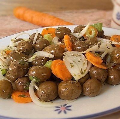 ricetta olive verdi in salamoia