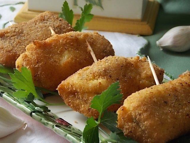 involtini di formaggio alla siciliana