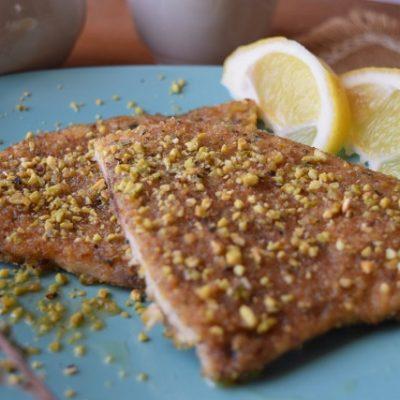pesce spada granella pistacchio