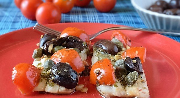 Filetti di pesce spatola al forno