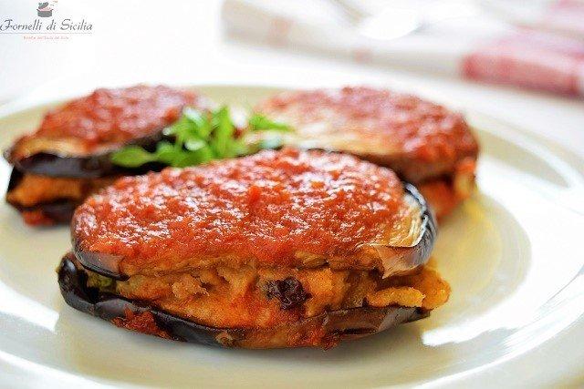 Melanzane imbottite – ricetta tipica siciliana