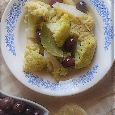 broccolo con olive