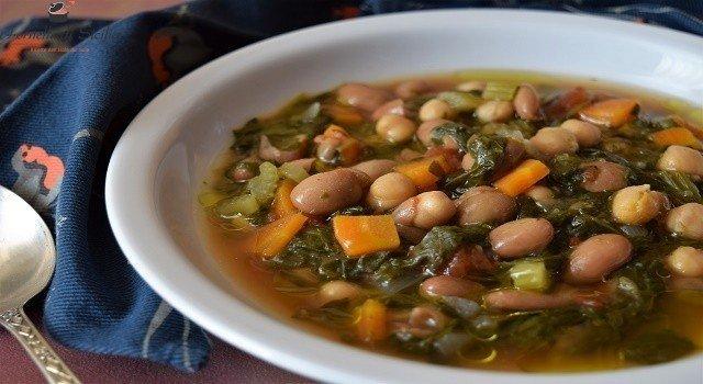 zuppa fagioli e ceci
