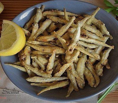 pesce fritto maccarruneddu