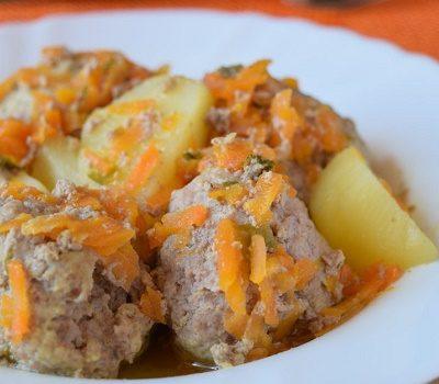 polpette e patate