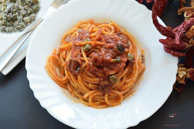 pasta con peperoncino
