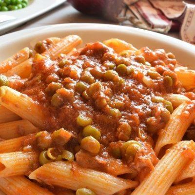 pasta col ragu alla siciliana