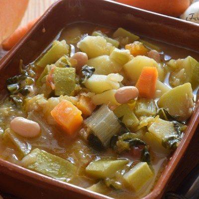 minestrone estivo siciliano