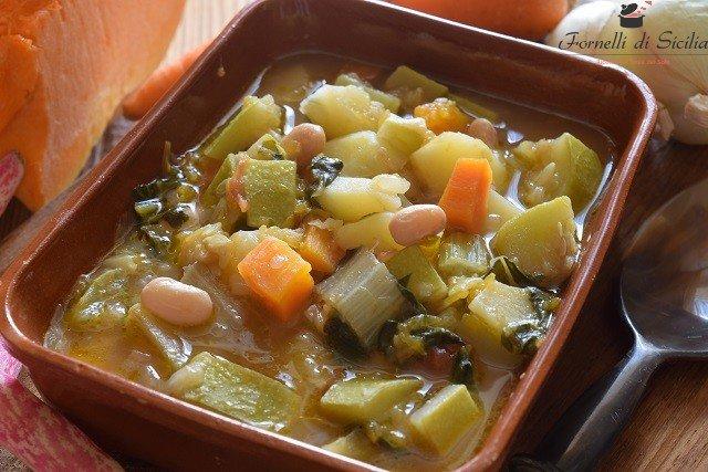 minestrone siciliano estivo