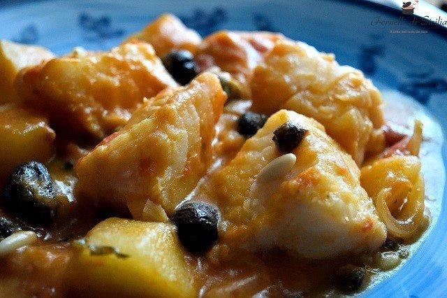 baccala alla siciliana con patate
