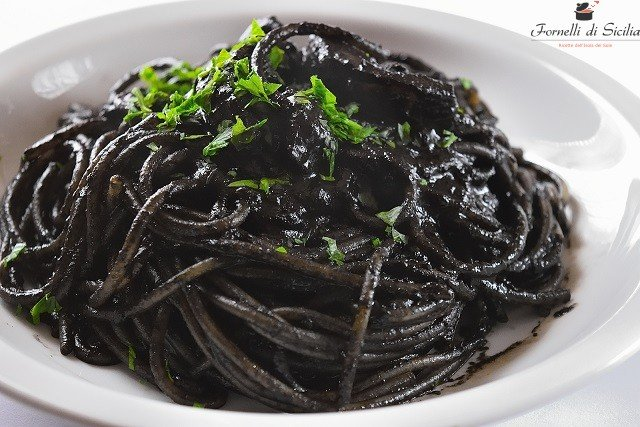 pasta col nero di seppia
