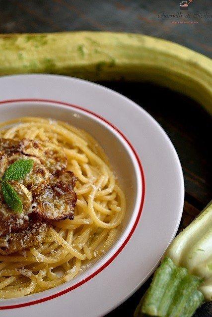 pasta zucchina fritta