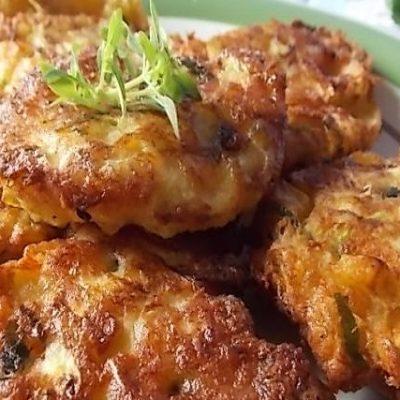 frittelle di zucchina