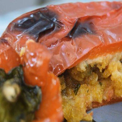 ricetta peperoni con mollica