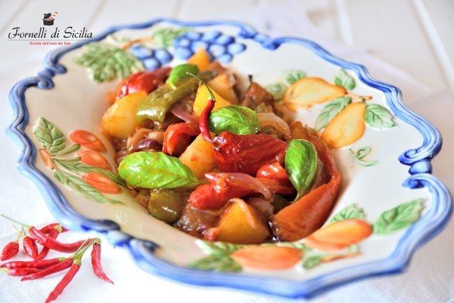 canazzo, ricetta siciliana di verdure. Oltre che stufate possono essere fritte