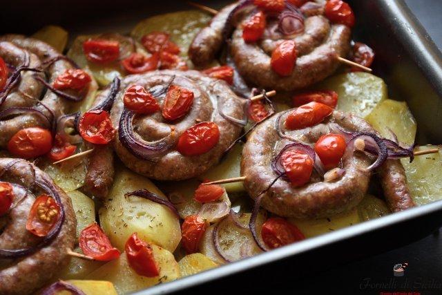 salsiccia alla siciliana al forno