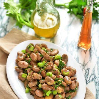 insalata di fave secche