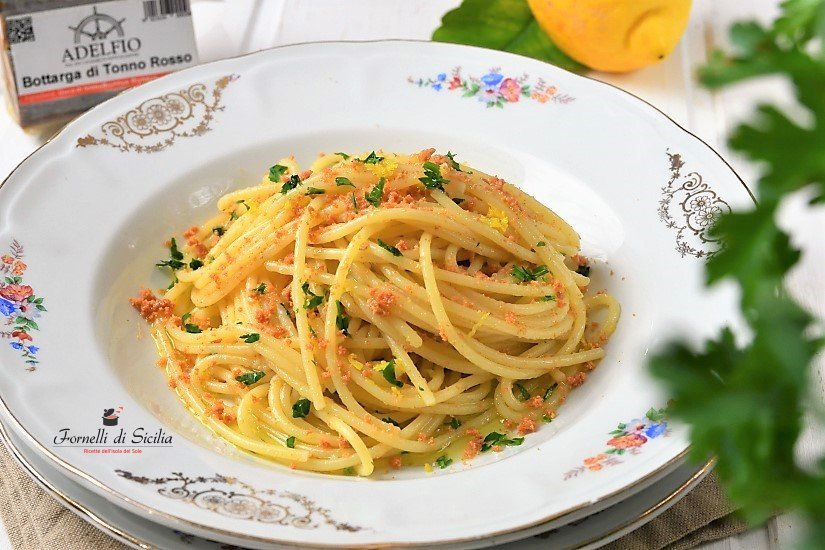 Bottarga Thuna Spaghetti Recipe