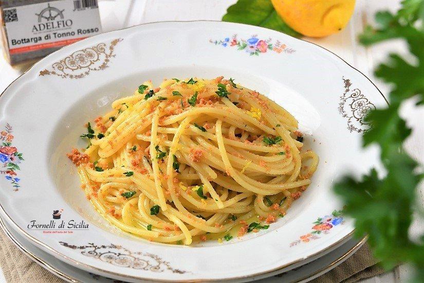 Bottarga Thuna Spaghetti Recipe