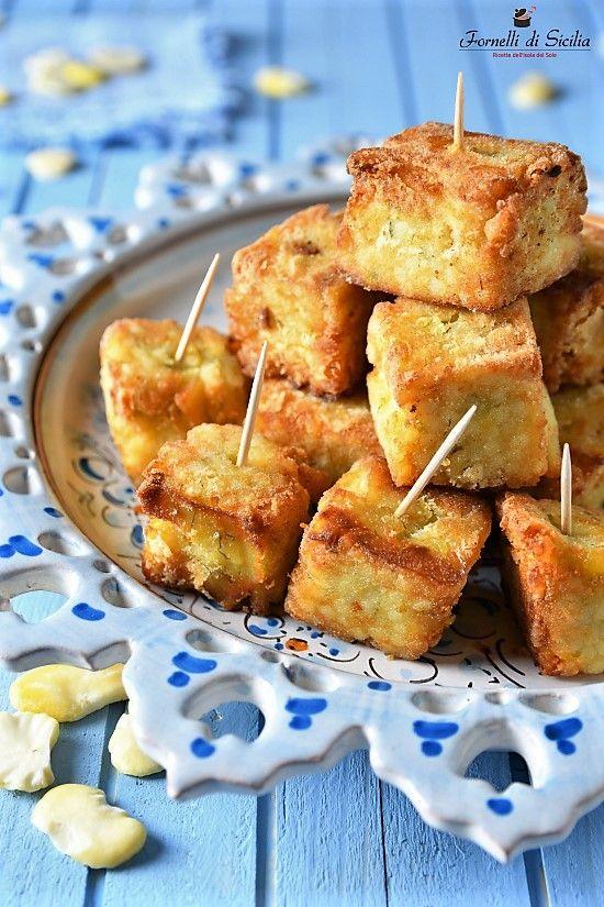 Ricetta con fave: Macco di fave fritto
