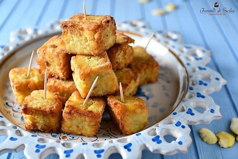 ricetta macco di fave fritto