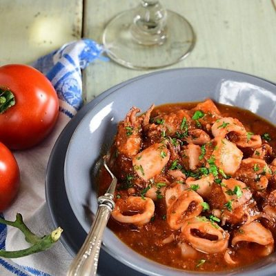 calamari alla messinese