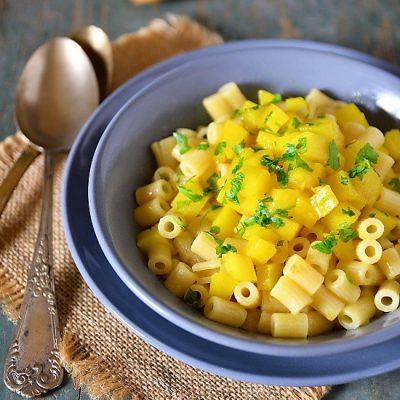 pasta con patate