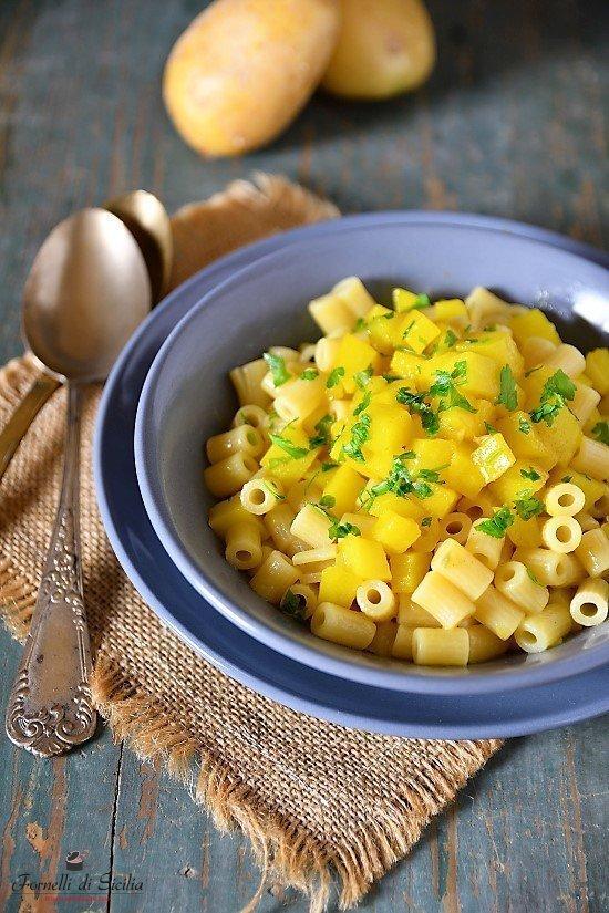 Pasta con patate: la ricetta della nonna
