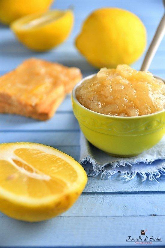 marmellata di limoni bio