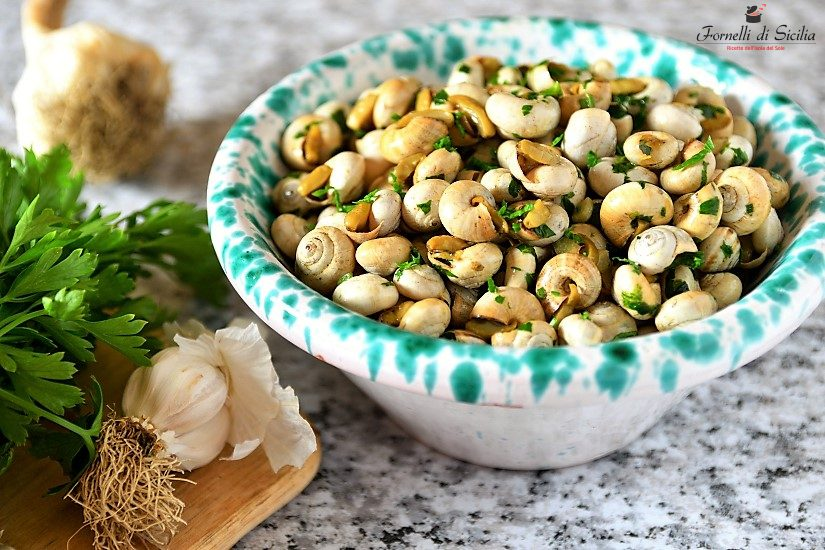 ricetta palermitana aglio e prezzemolo