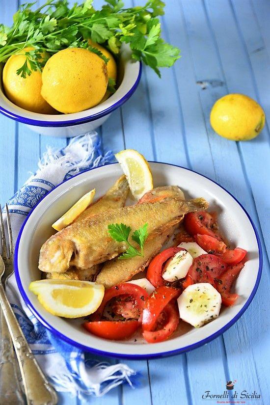Pettini fritti – Pesci dolci e delicati