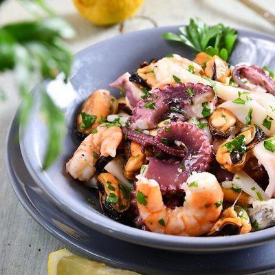 insalata di mare alla siciliana