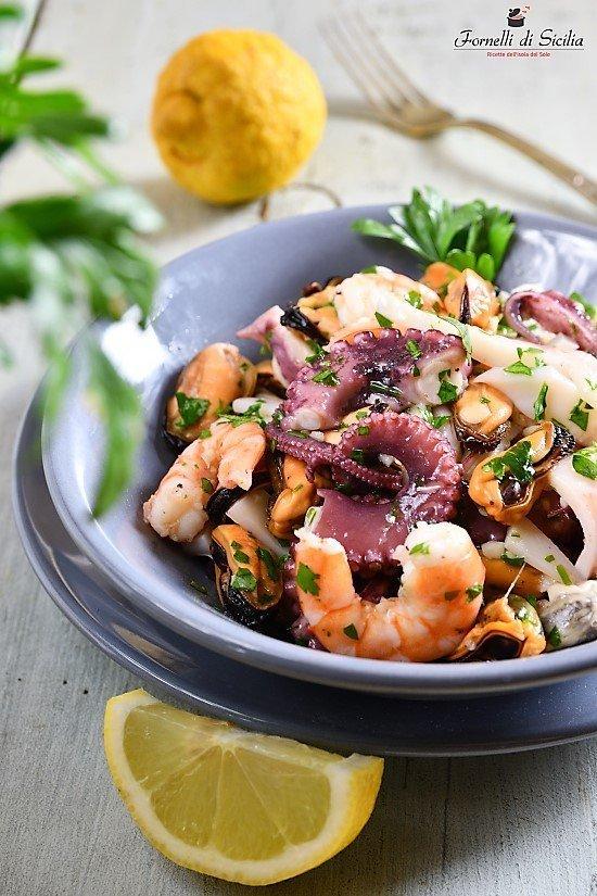 Insalata di mare: ricetta siciliana estiva