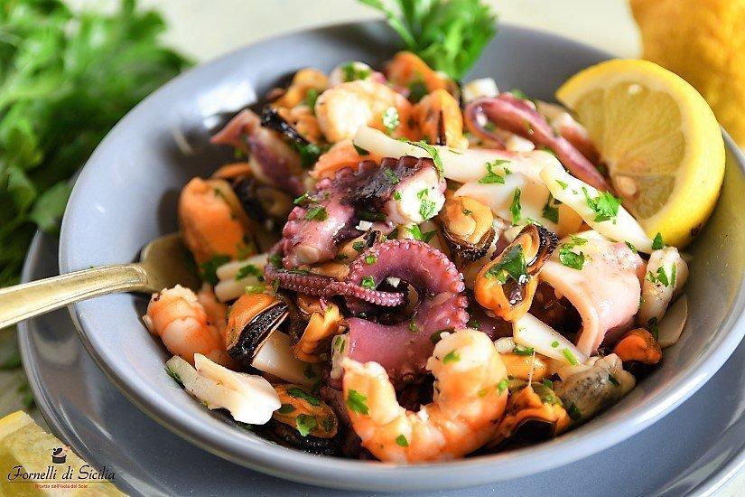 Insalata di mare: ricetta siciliana estiva   Fornelli di Sicilia