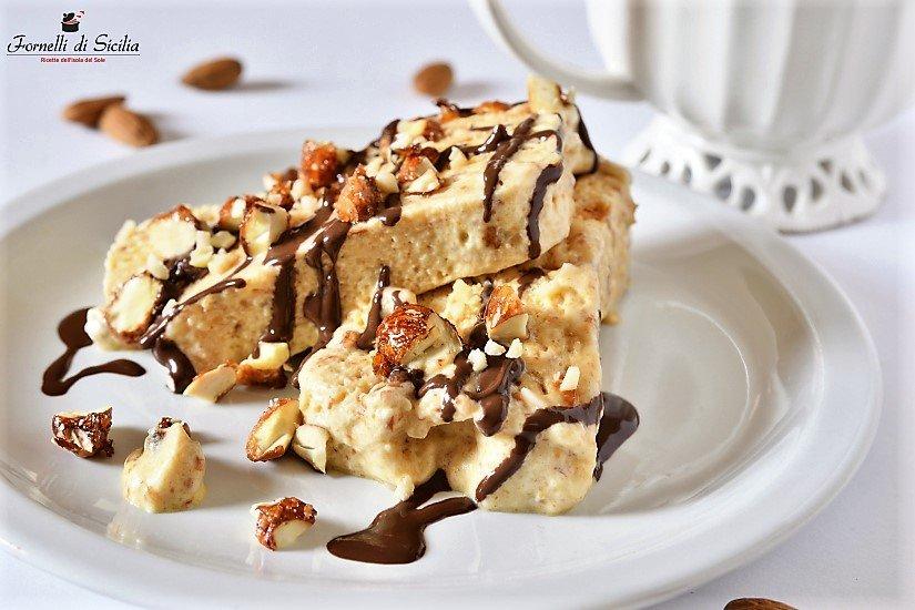 squisito dessert della pasticceria siciliana