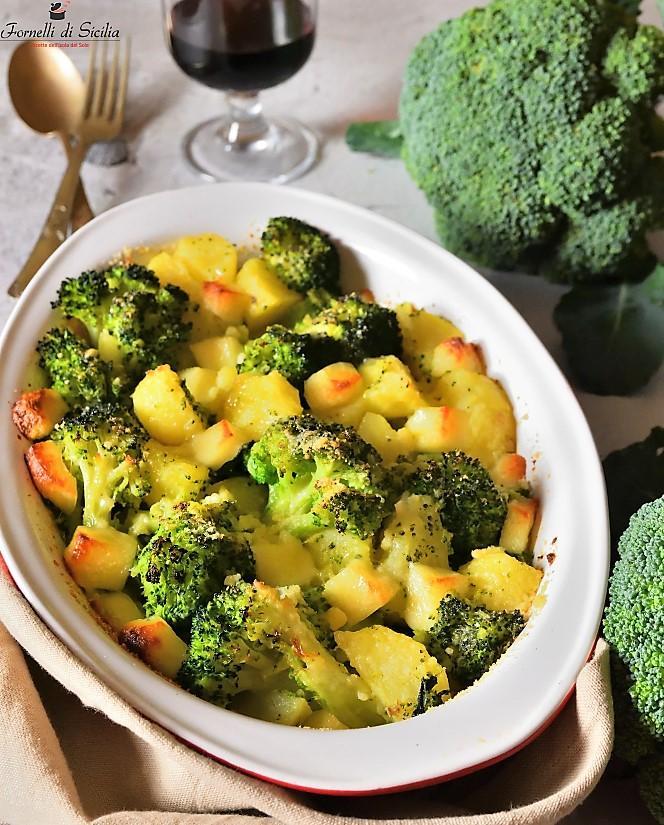 Broccoletti e patate al forno: gli sparacelli siciliani