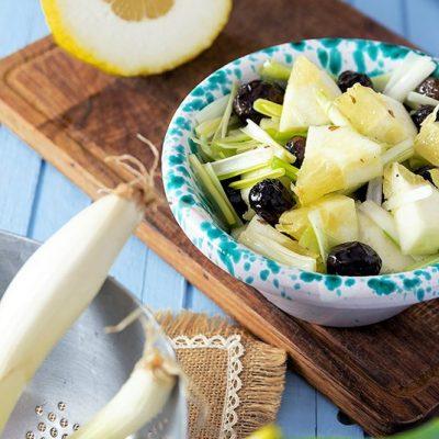 insalata di cedro e cipolla