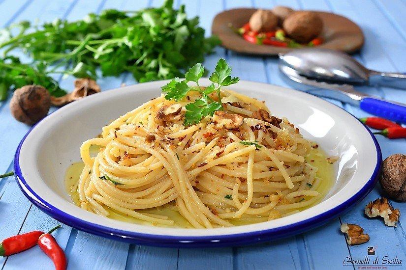 Spaghetti alle noci…a modo mio