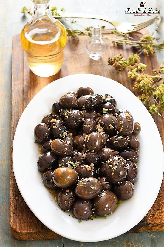 Olive fritte in agrodolce