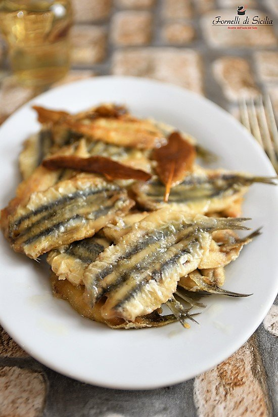 Sarde allinguate in agrodolce