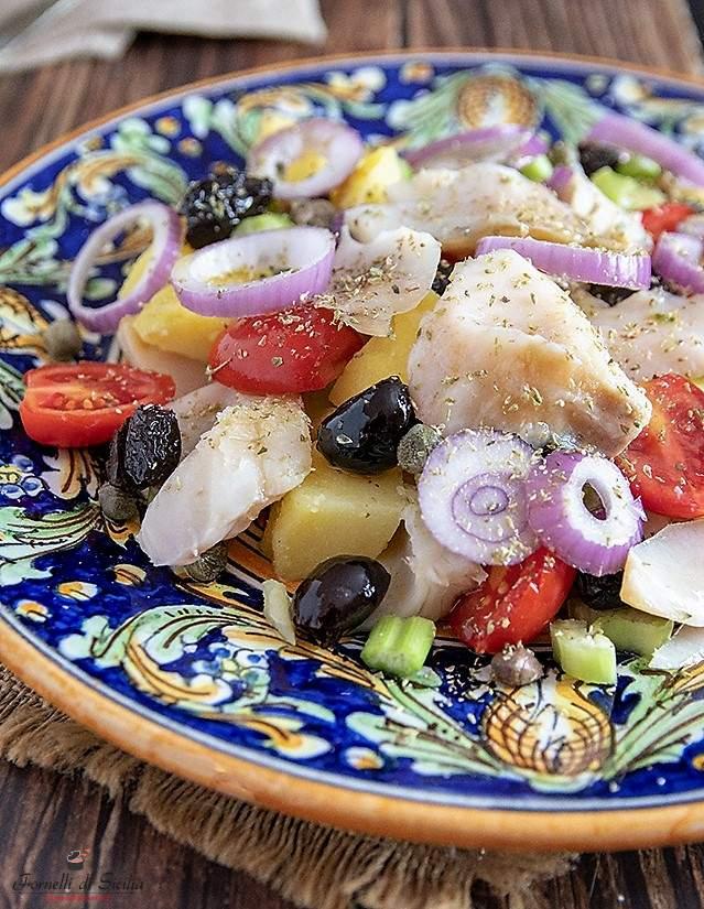 Insalata di pesce stocco: ricetta messinese