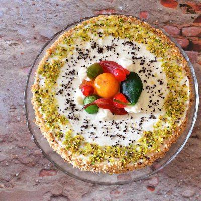 torta di ricotta siciliana