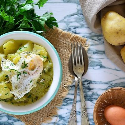 uova e patate a spezzatino