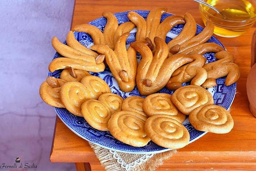 Biscotti al miele: i rami di miele siciliani