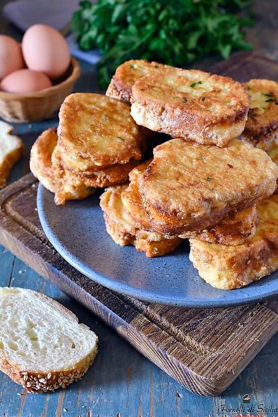 Pane fritto: ricetta pane fritto con uova